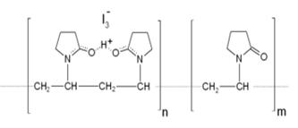فرمول شیمیایی بتادین